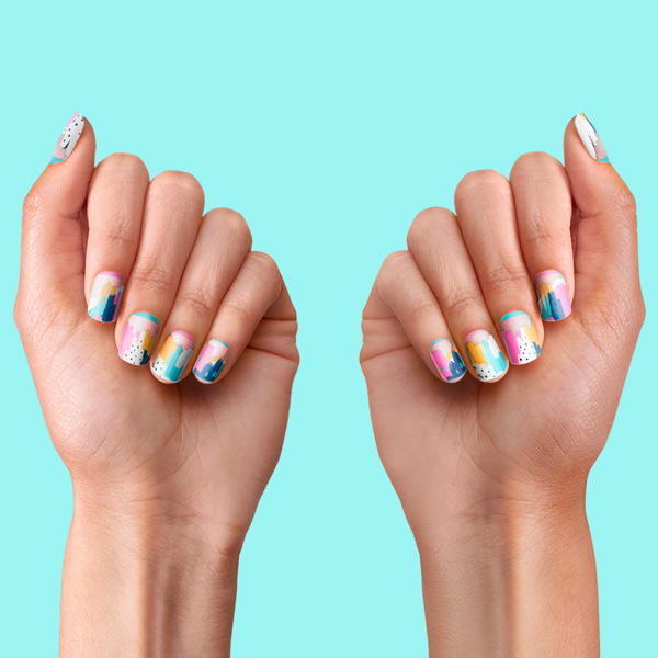 PopSockets Nails Painterly Pastels hover
